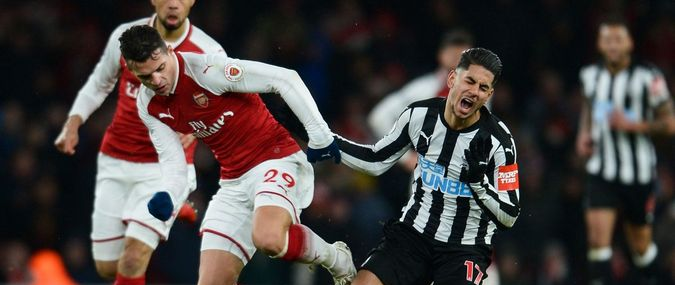 Arsenal - Newcastle United 16 février 2020