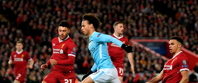 Manchester City – Liverpool 10 avril 2018