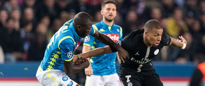 Naples – Paris Saint-Germain 06 novembre 2018